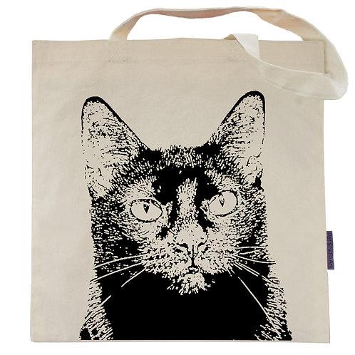 Jazz the Black Cat Tote Bag