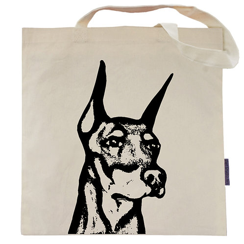 Doberman Tote Bag | Major the Dobie