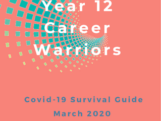 Year 12 Career Warriors  This guide provides information to help year 12s to manage their career .