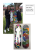Yr 10 Hand painted skateboard decks.