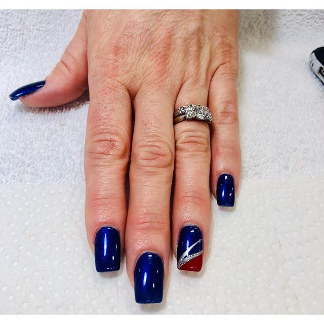 💙Nails ❤️by Sherry #nails