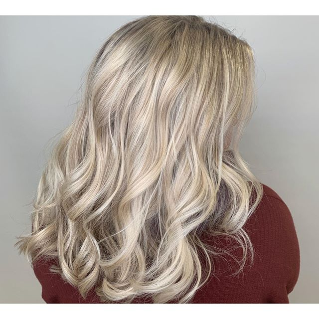 ❄️Icy Snow White Blonde❄️ Full Foil by D