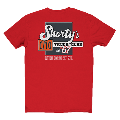 Shortys C10 truck club t-shirt