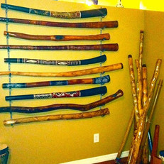 living room wall of Didgeridoos.jpg