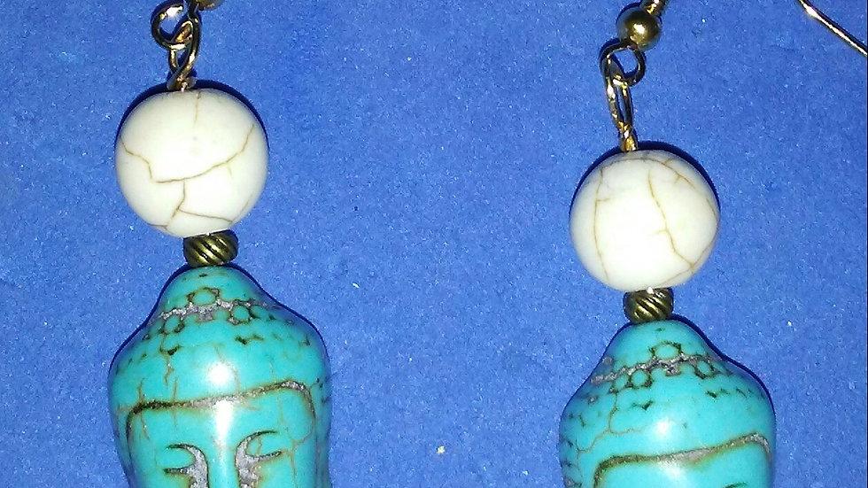 Buddha Earrings
