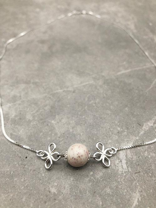 Flower Memorial Flower Link Necklace