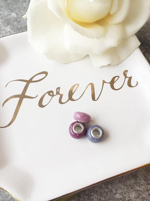 Flower Memorial European Style Beads