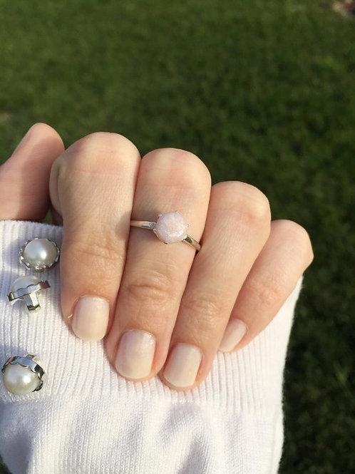 Flower Memorial Crown Ring