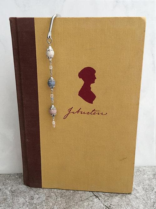 Flower Memorial Bead Bookmark