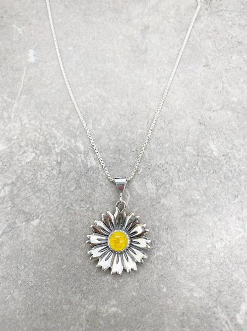 Flower Memorial Sunflower Pendant