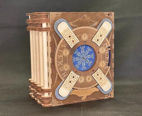 """""""Norse - 5 Page Storybook"""" Themed Codex Silenda"""