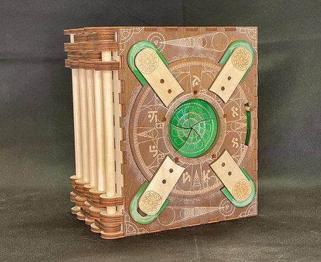 """Da Vinci - 5 Page Storybook"" Themed Codex Silenda"