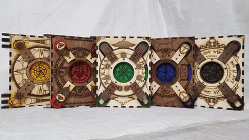 """""""Mayan - 5 Page Storybook"""" Themed Codex Silenda"""