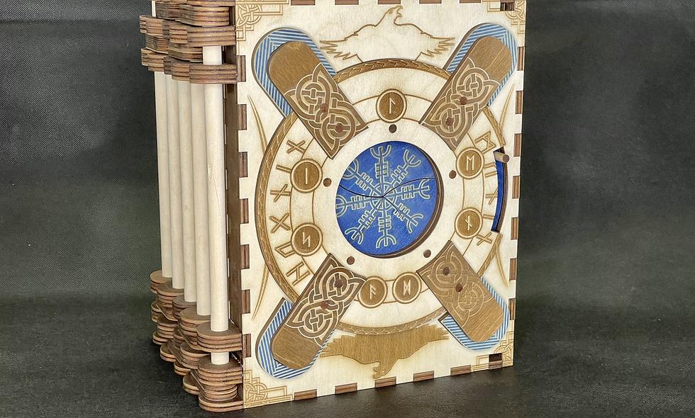 """Norse - 7 Page Extraordinary"" Themed Codex Silenda"
