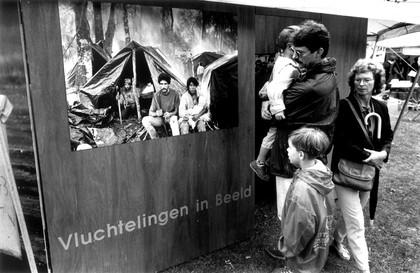 Expositie over Vluchtelingen Amnesty International
