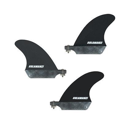 Pack ailerons Solamanzi US BOX black fiber