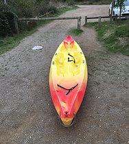 Kayak Sit on top Rafka 4.50 m - RPI KAYAK - 3 personnes