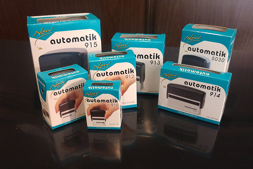 Automatik Self-Inking Stamps 910 (27x14mm)