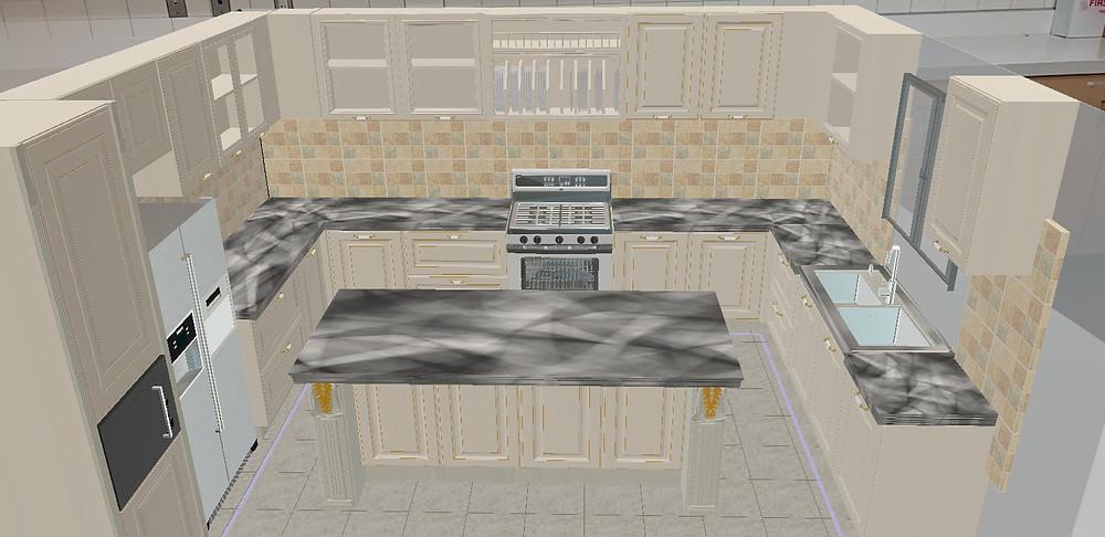 Kitchen Design in ARKitchen