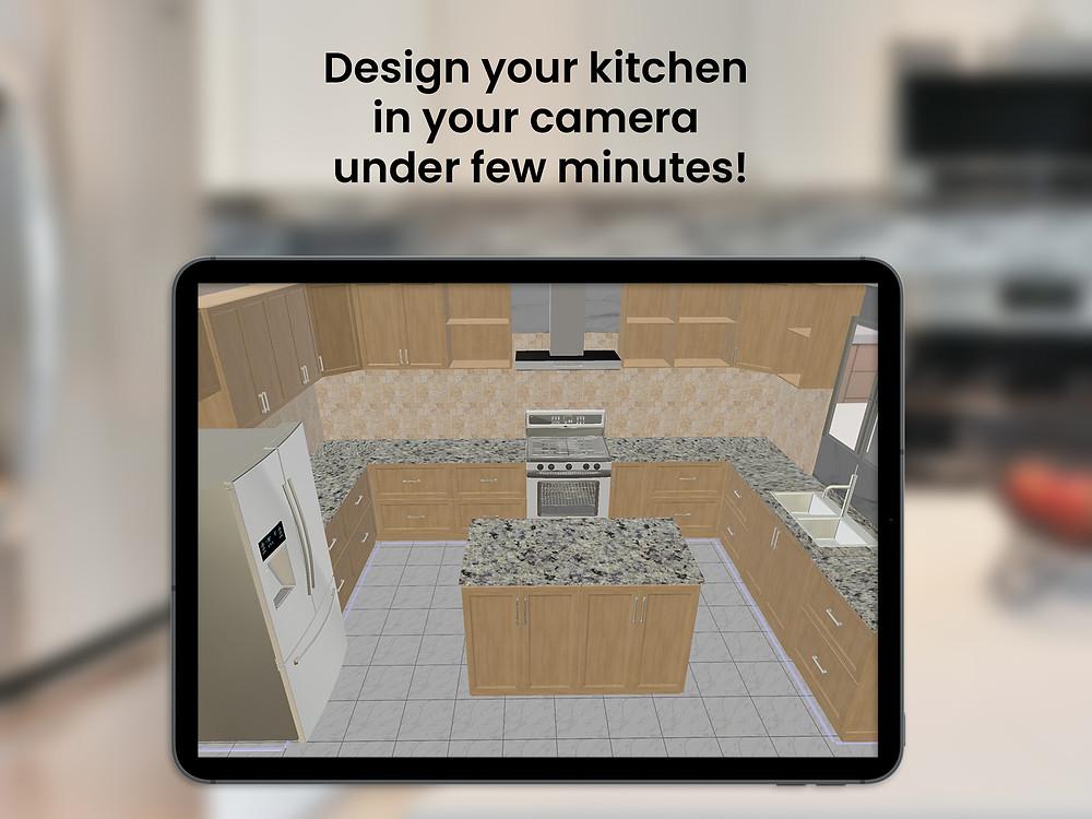 Kitchen Design in AR