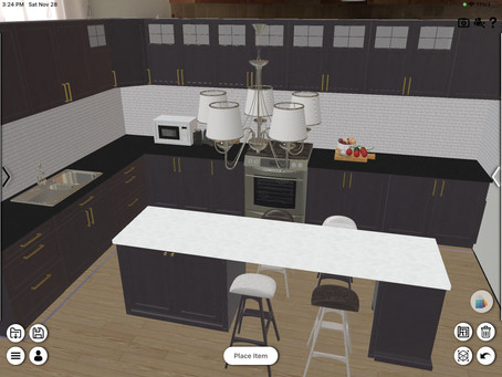 Update 1.31 New Kitchen Layout Added! Ceiling Light Added