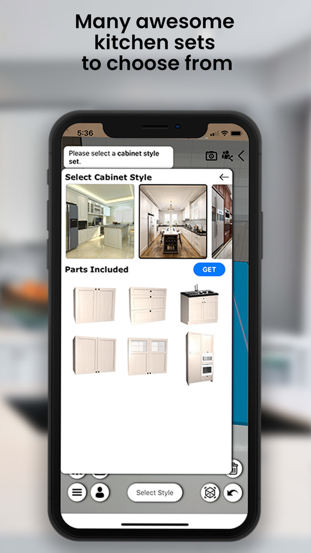 Select a Cabinet Style