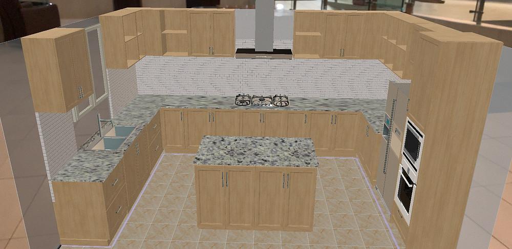 Free Kitchen Design App ARKitchen