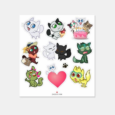 Stickers IRL