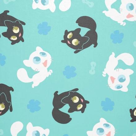 Créu & Petita Cuddle Blanket (aqua)