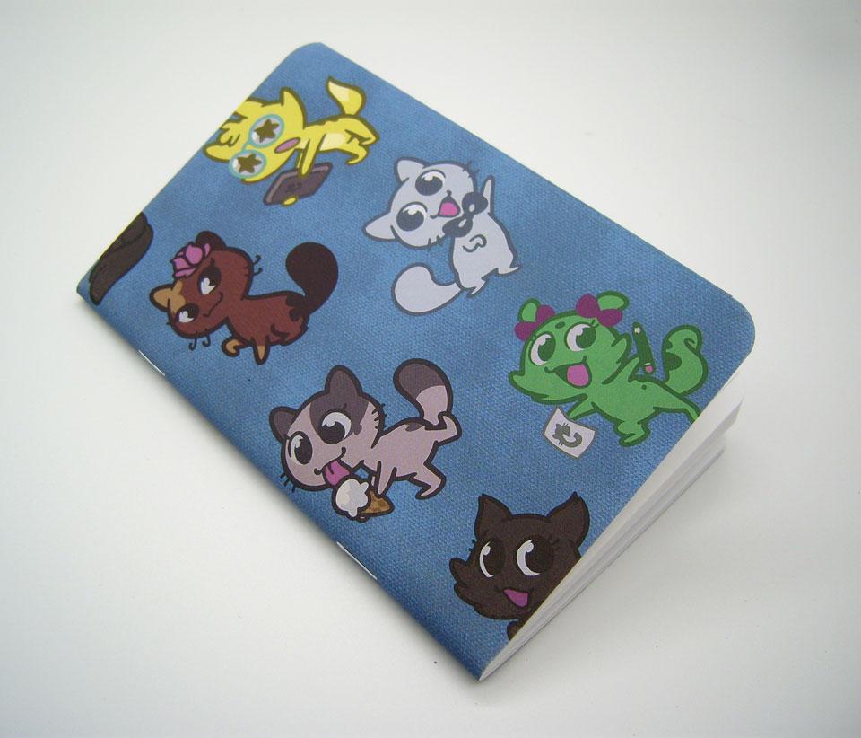 Créu Cats Pocket Journal