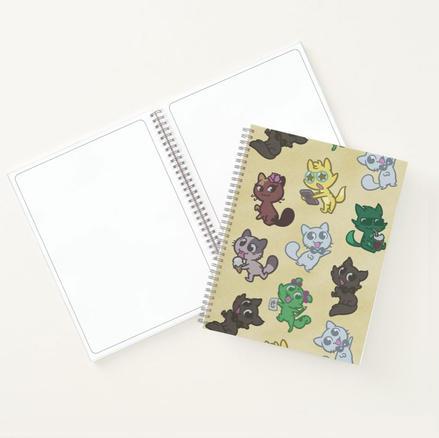 Créu Cats Sketch/Notebook