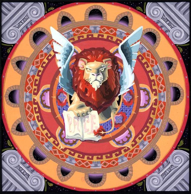 6 - Lion Mandala