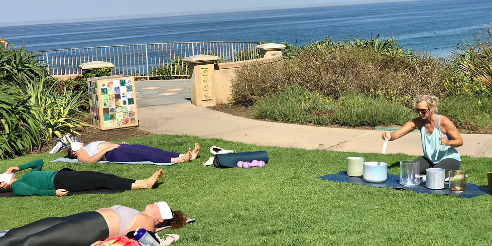 Self Care Sunday: HIIT & Sound Healing @ Moonlight Beach