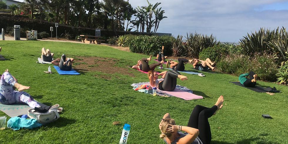 Mid-Week Self-Care: Slow Sculpt & Sound Healing @ Moonlight Beach