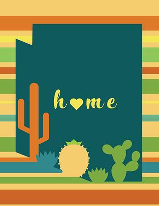 Arizona Home Sarape - Warm