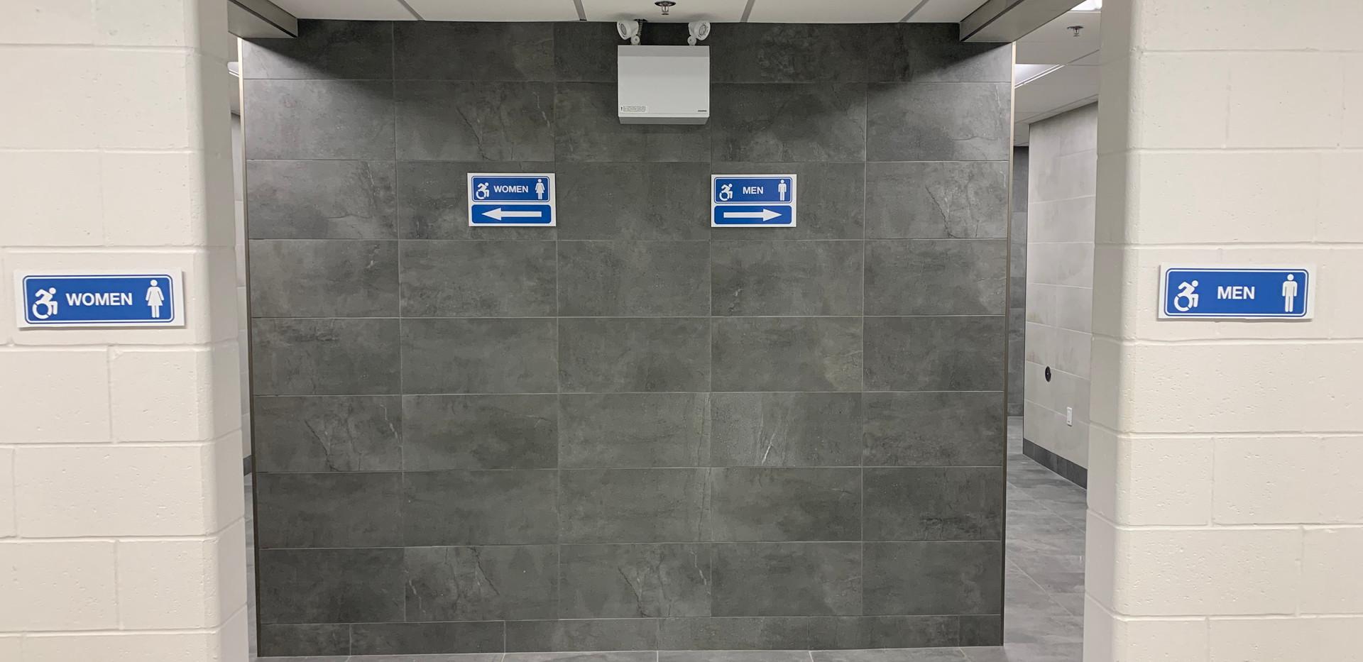 Washroom Entrance