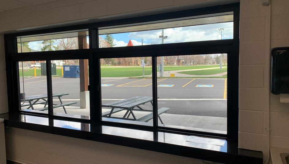 Outside Service Window