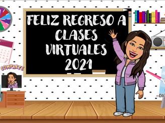 AÑO ESCOLAR 2021 COMIENZA LUNES 1 DE MARZO EN FORMA VIRTUAL