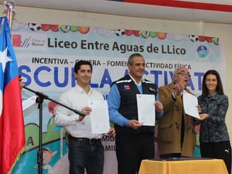 Lanzamiento Regional: EN LLICO SE REALIZÓ FERIA DE LA  ACTIVIDAD FÍSICA Y DEL DEPORTE