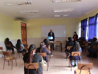 LICEO ENTRE AGUAS DE LLICO INICIÓ RETORNO GRADUAL DE CLASES PRESENCIALES