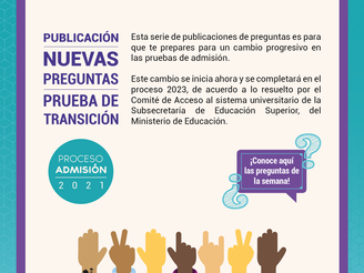 ANUNCIAN FECHAS DE NUEVA PRUEBA DE ADMISIÓN A EDUCACIÓN SUPERIOR QUE REEMPLAZARÁ A LA PSU
