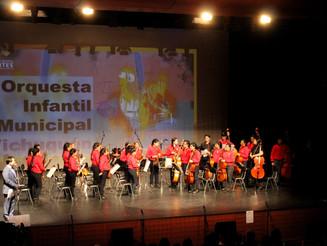 NUESTRA ORQUESTA BRILLÓ EN EL 1ER ENCUENTRO REGIONAL DE LAS ARTES