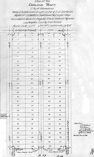 Keefer's Subdivision of Lots 74 and 75