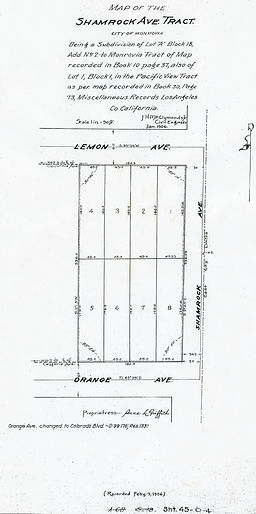 Shamrock Avenue Tract
