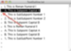 O3b-OPMLEditor_SelectRow_withArrow.png
