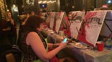 Paint Nite Fundraiser