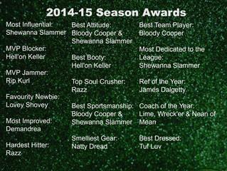 2014-2015 League Awards