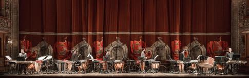 Slagwerk Den Haag in Teatro Colon