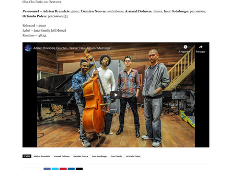 Review in Latin Jazz Network