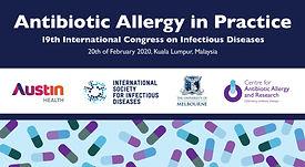 PreCongress Antibiotic Allergy Workshop